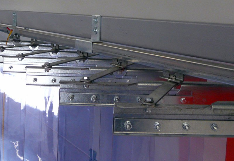 PVC Streifenvorhang Accordeon EFD