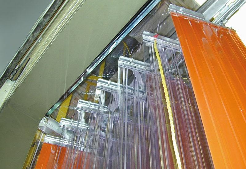 accordion hardware Schienensystem