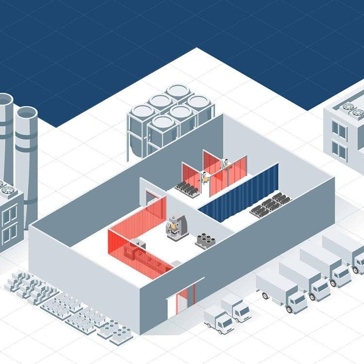 Illustration Metall- und Schweißindustrie EFD