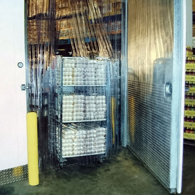 PVC Streifenvorhang Kühlzelle & Tiefkühlzelle