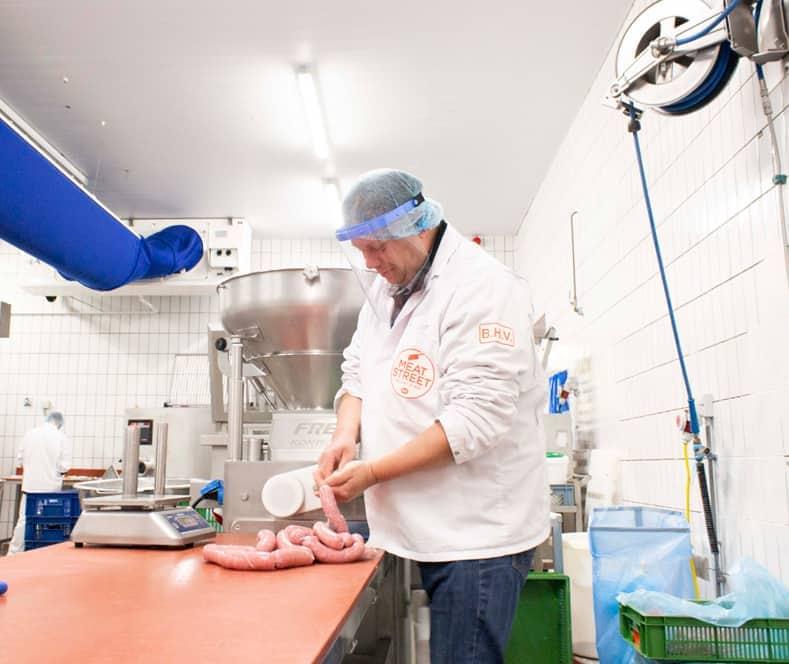 Vista Protector gelaatsscherm voedselindustrie, gelaatsbescherming, gezichtsmasker