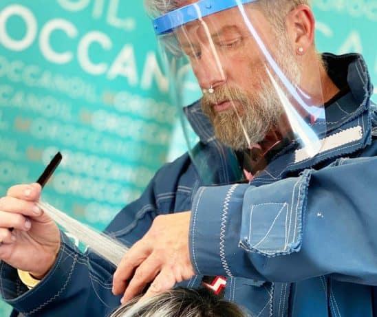 Vista Protector gelaatsscherm kapper, gelaatsbescherming, gezichtsmasker