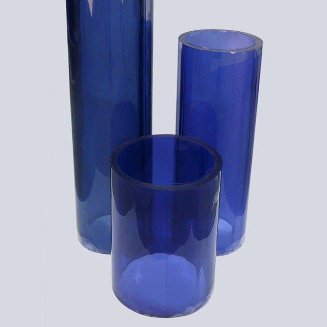 PVC platen zacht & flexibel standaard transparant