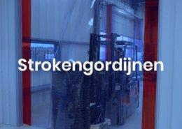 strokengordijnen, tochtdeuren, verschuifbaar strokengordijn, strokengordijn op maat, vriescel strokengordijn