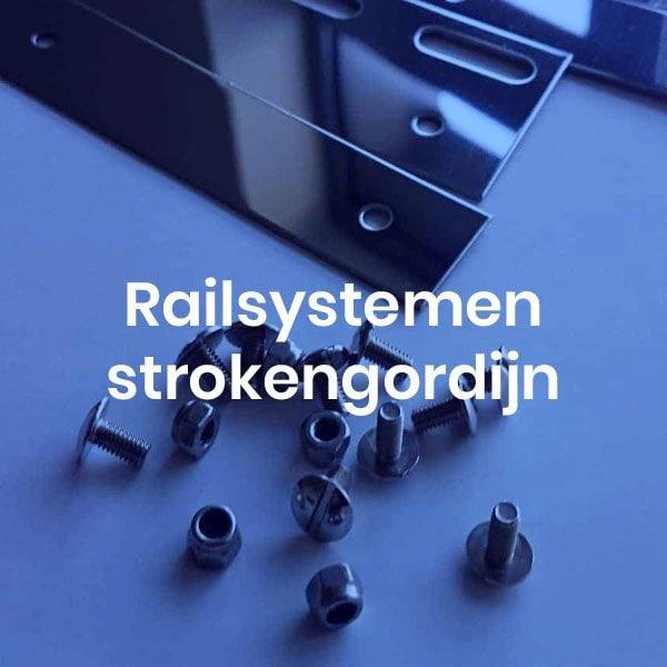 Railsystemen strokengordijn