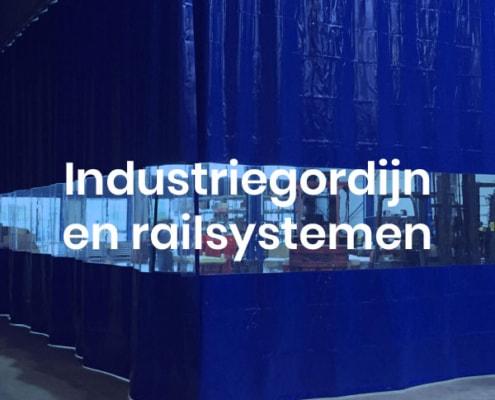 industriegordijn, industrieel gordijn, afscheidingsgordijn, railsystemen industrie gordijn