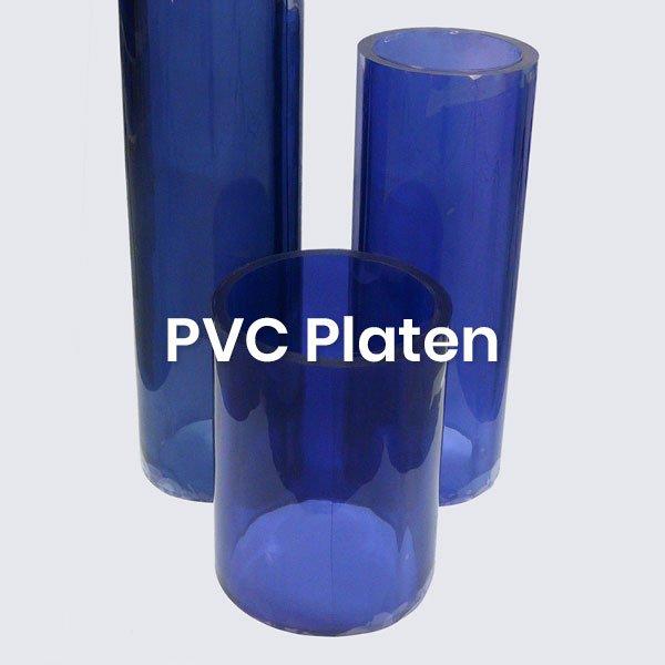 PVC platen zacht en flexibel