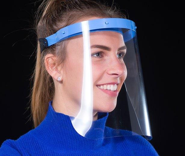 Vista protector Face shield EFD