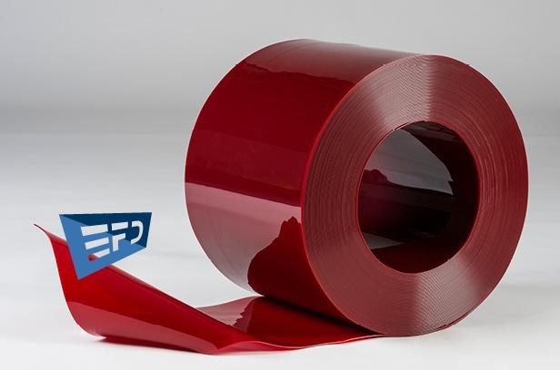 Welding PVC strips red