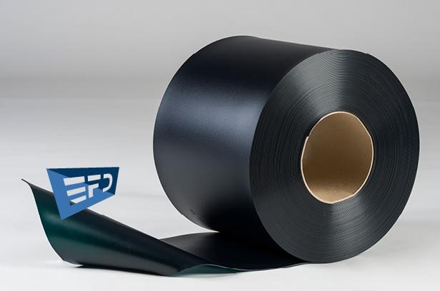 Welding PVC strips green