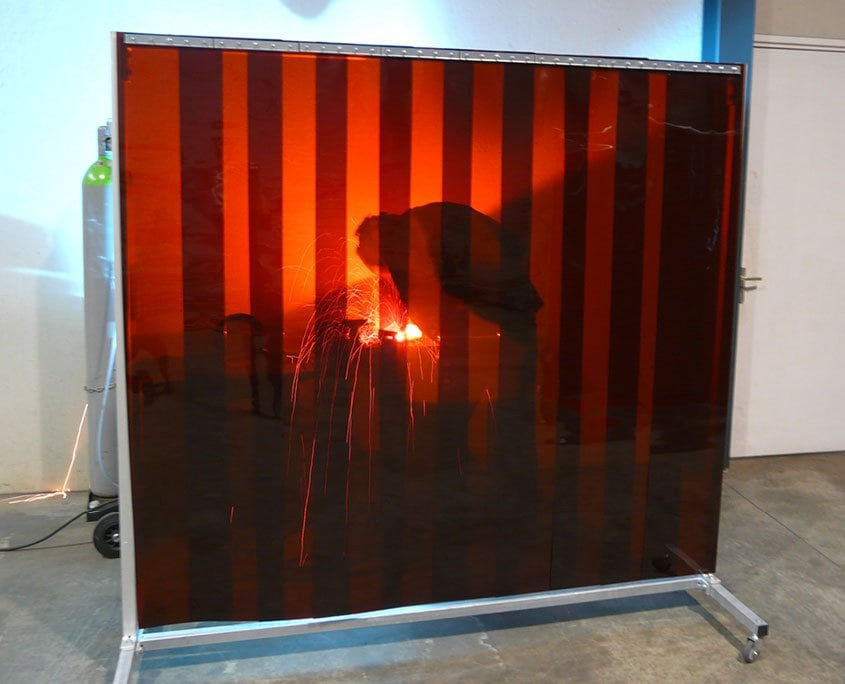 Welding sheets screen bronze