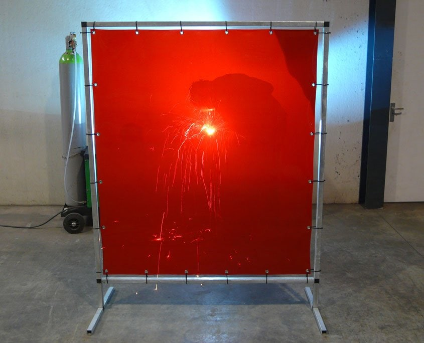 welding screen S140 red