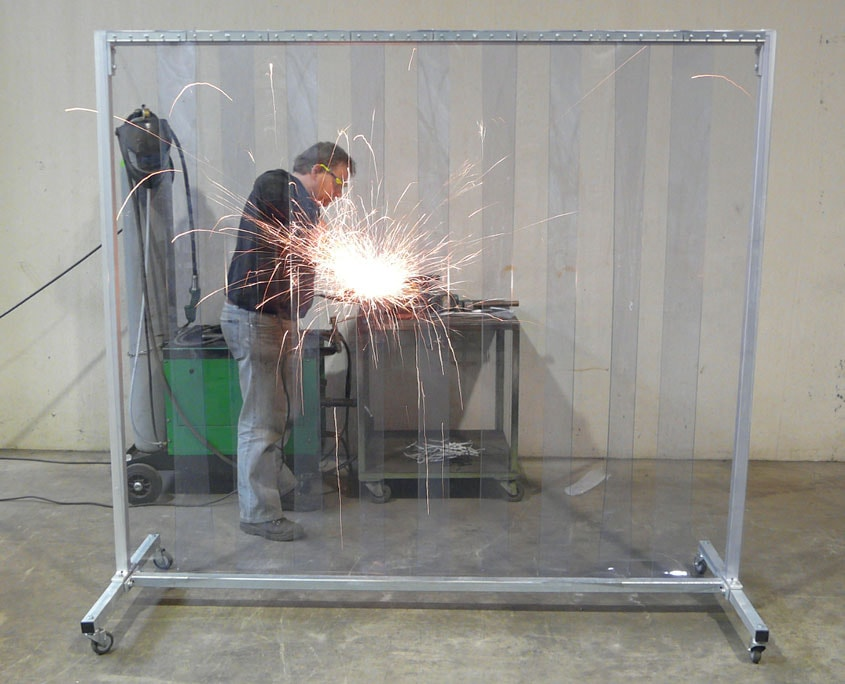 Welding sheets screen clear