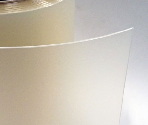 PVC strips frosted clear