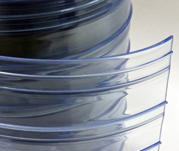 PVC strips standard double ribbed