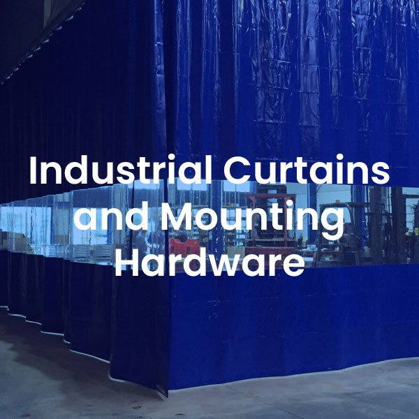 Industrial Curtains and Mounting Hardware